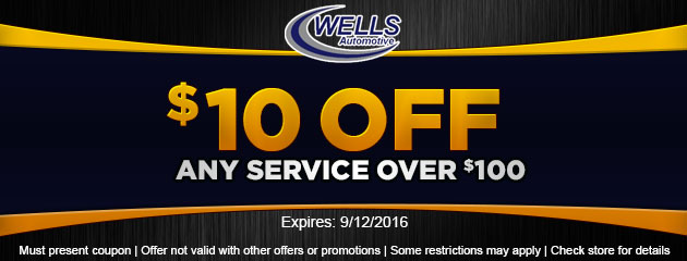 $10 Off Any Service Over $10