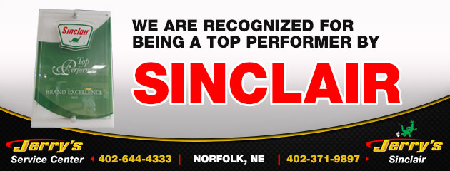 SInclair Top Performer