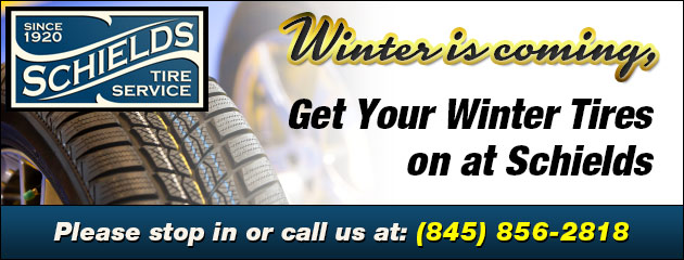 Winter is coming, Get Your Winter Tires on at Schields