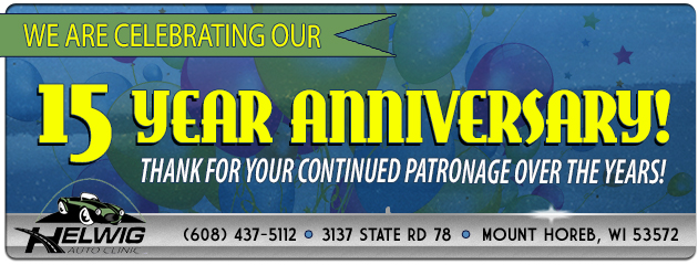 We are Celebrating our 15 Year Anniversary!