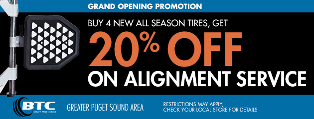 20% Off Alignment Service