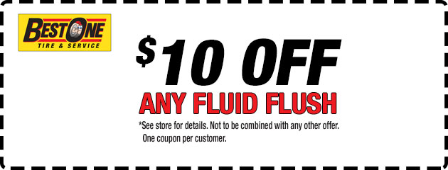 $10 Off Any Fluid Flush