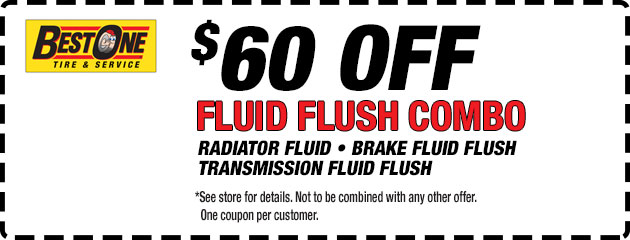 $60 Off Fluid Flush Combo