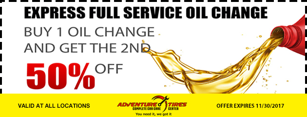 Express full service oil change