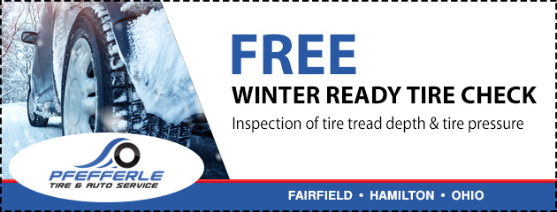 FREE Winter Ready Tire Check