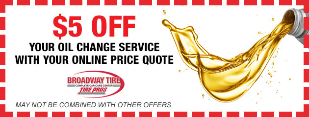 Oil Change Discount With Online Price Quote
