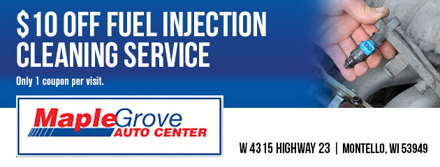 $10 off fuel injection cleaning service