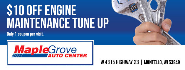 $10 off engine maintenance tune up
