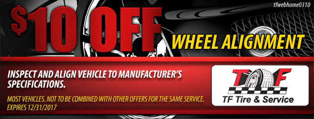 10 Off Wheel Alignment
