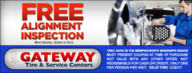 FREE Vehicle Alignment Inspection