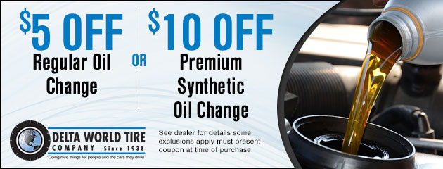5 Or 10 Off Oil Change