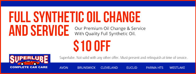 Full Synthetic Oil Change