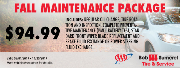 Fall Maintenance Package