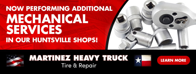 Now performing additional mechanical services in our Huntsville shops!