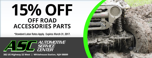 15% off  Off Road Accessories Parts