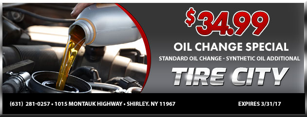 $34.99 Oil Change Special