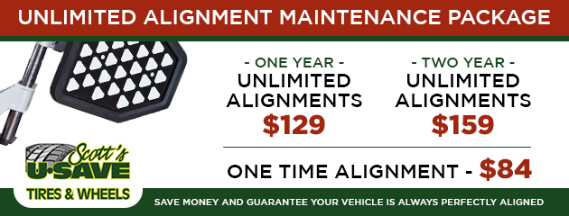 Unlimited Alignment Maintenance Package