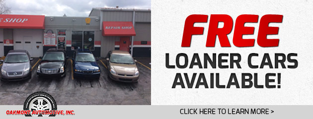 Free Loaner Cars Available