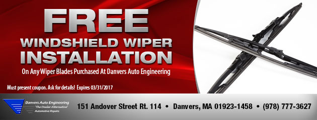 Free Windshield Wiper Installation