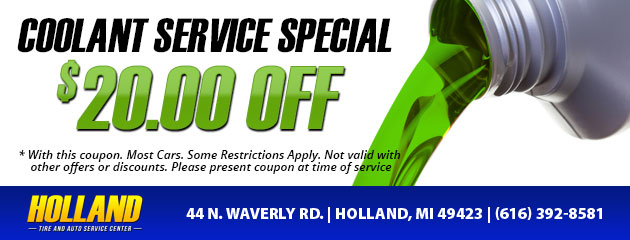 Coolant Service Special