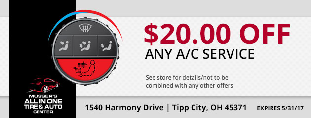 $20.00 off any A/C Service