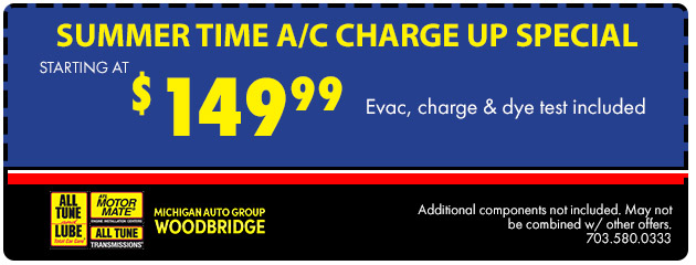 Summer Time A/C Charge Up Special
