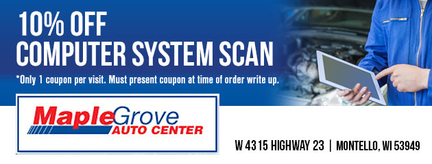 10% off computer system scan
