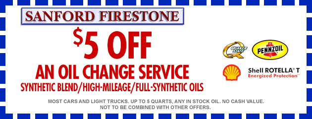 $5 Oil Change Coupon