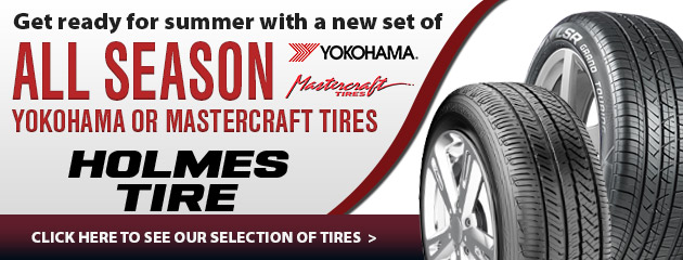 Get ready for summer with a new set of Yokohama and Mastercraft tires!