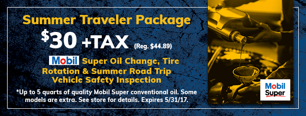 Summer Traveler Package