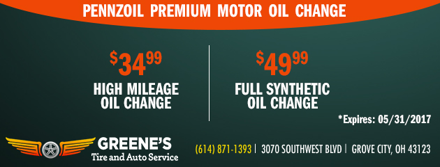 Pennzoil Oil Change