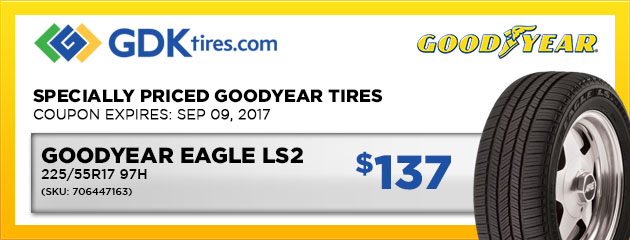 Goodyear Eagle LS2 - $137