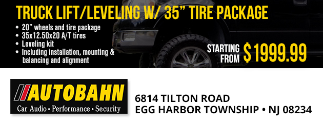 "Truck lift/leveling w/ 35"" tire package"
