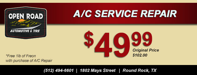 A/C Service Special