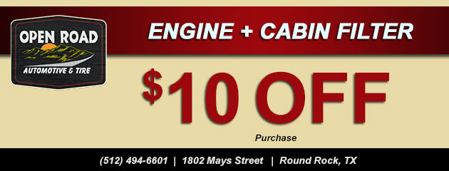 $10 off Engine + Cabin Filter Purchase