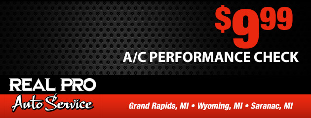 A/C Performance Check  $9.99