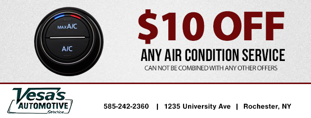 $10.00 off any air condition service
