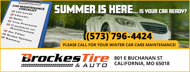 Summer is Here! Get Your Winter Car Care Maintenance!
