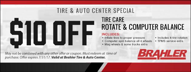 Springfield IL Tires  Auto Repair  Brahler Tire  Auto Center