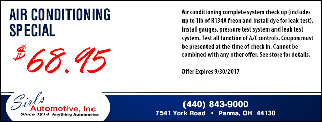 Air Conditioning Special