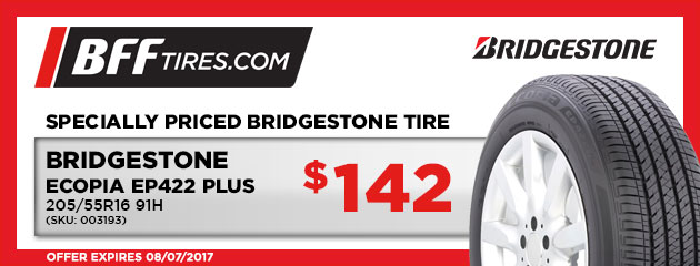 Bridgestone Ecopia EP422 Plus - $142