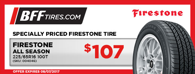 Firestone All Season - $107