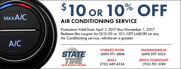 $10 or 10% Off Air Conditioning Service