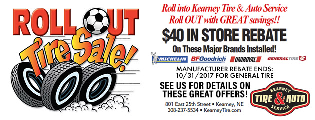 Roll Out Tire Sale