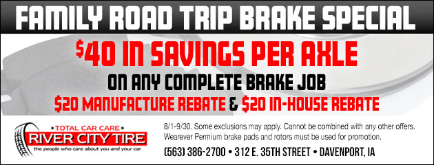 Family Road Trip Brake Special
