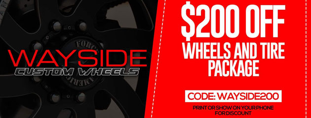 $200 Off Wheels & Tire Package