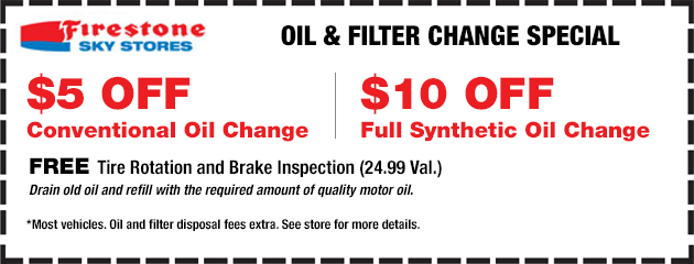 Oil and Filter Change Special