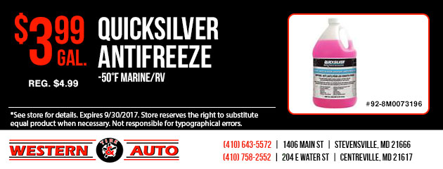 QUICKSILVER ANTIFREEZE Special