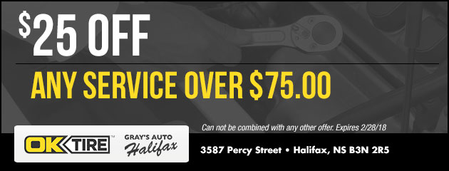$25 Off Any Service Over $75