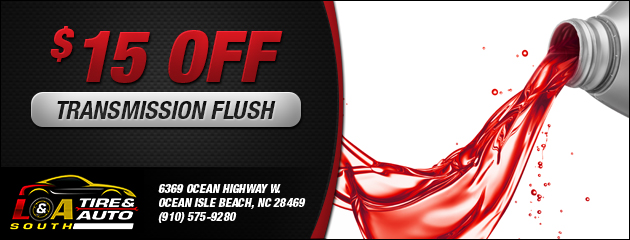 $15 Off Transmission Flush